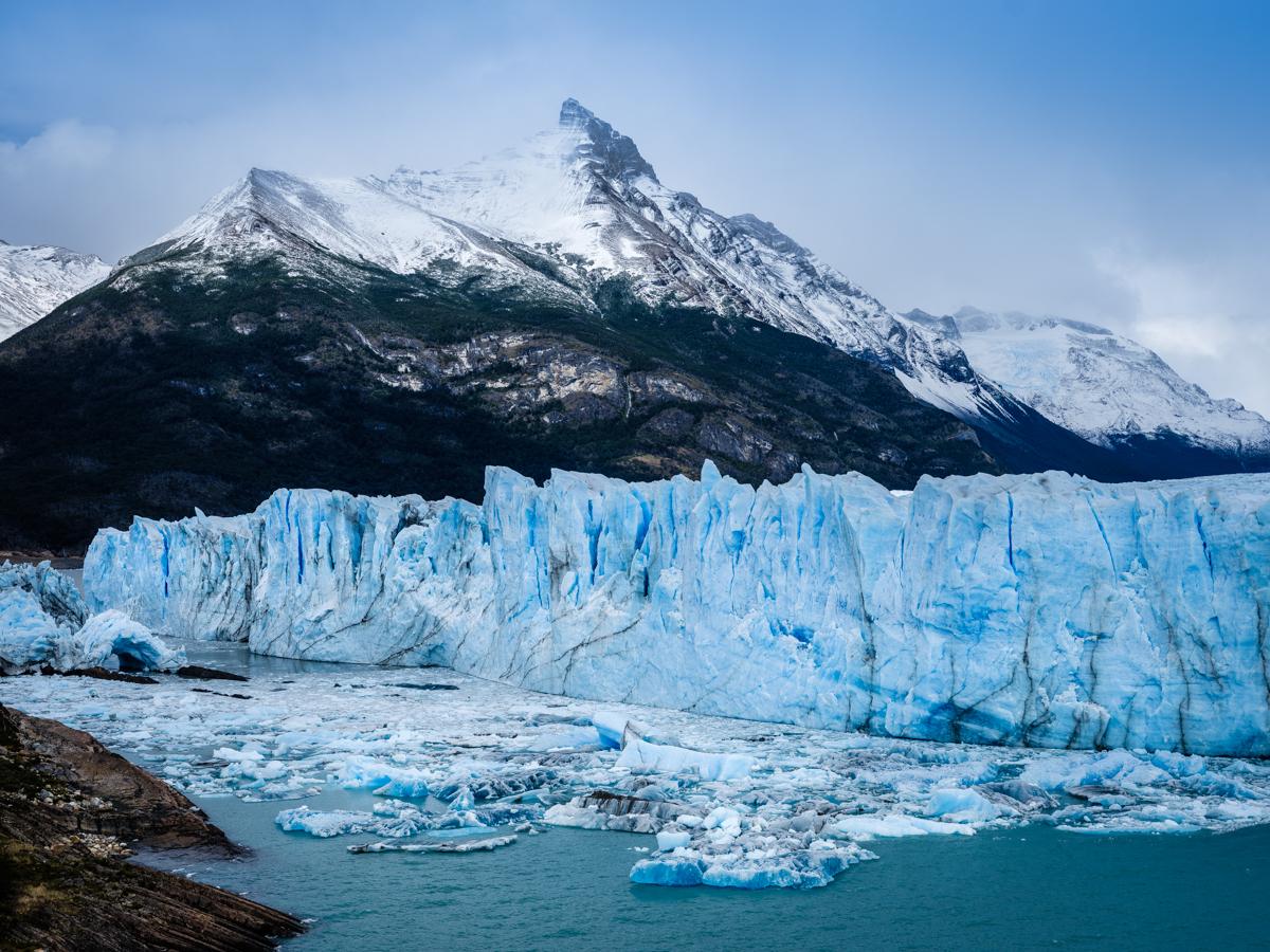 Los Glaciares National Park in Patagonia.