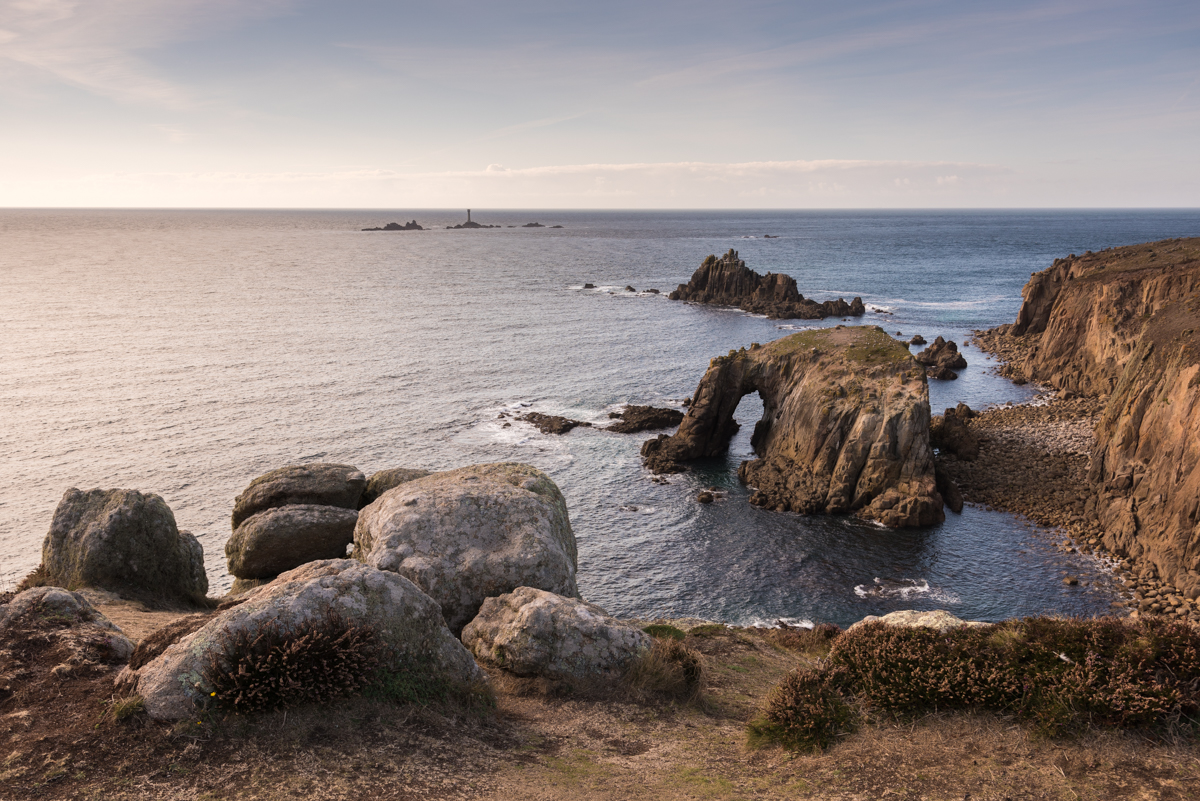 The Beautiful Southwest Cornwall Coast - capture great scenes like this on our 3-day photography workshop.