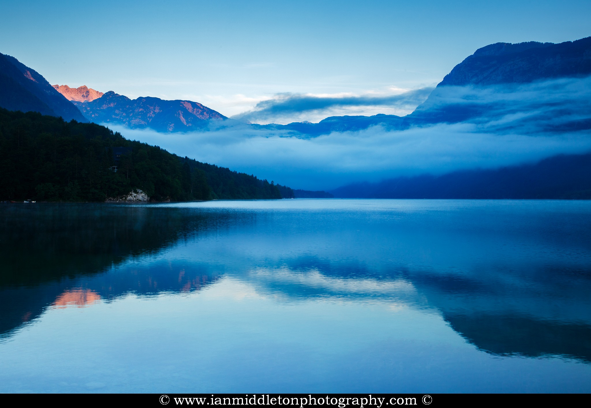 Lake Bohinj photography workshop in Slovenia