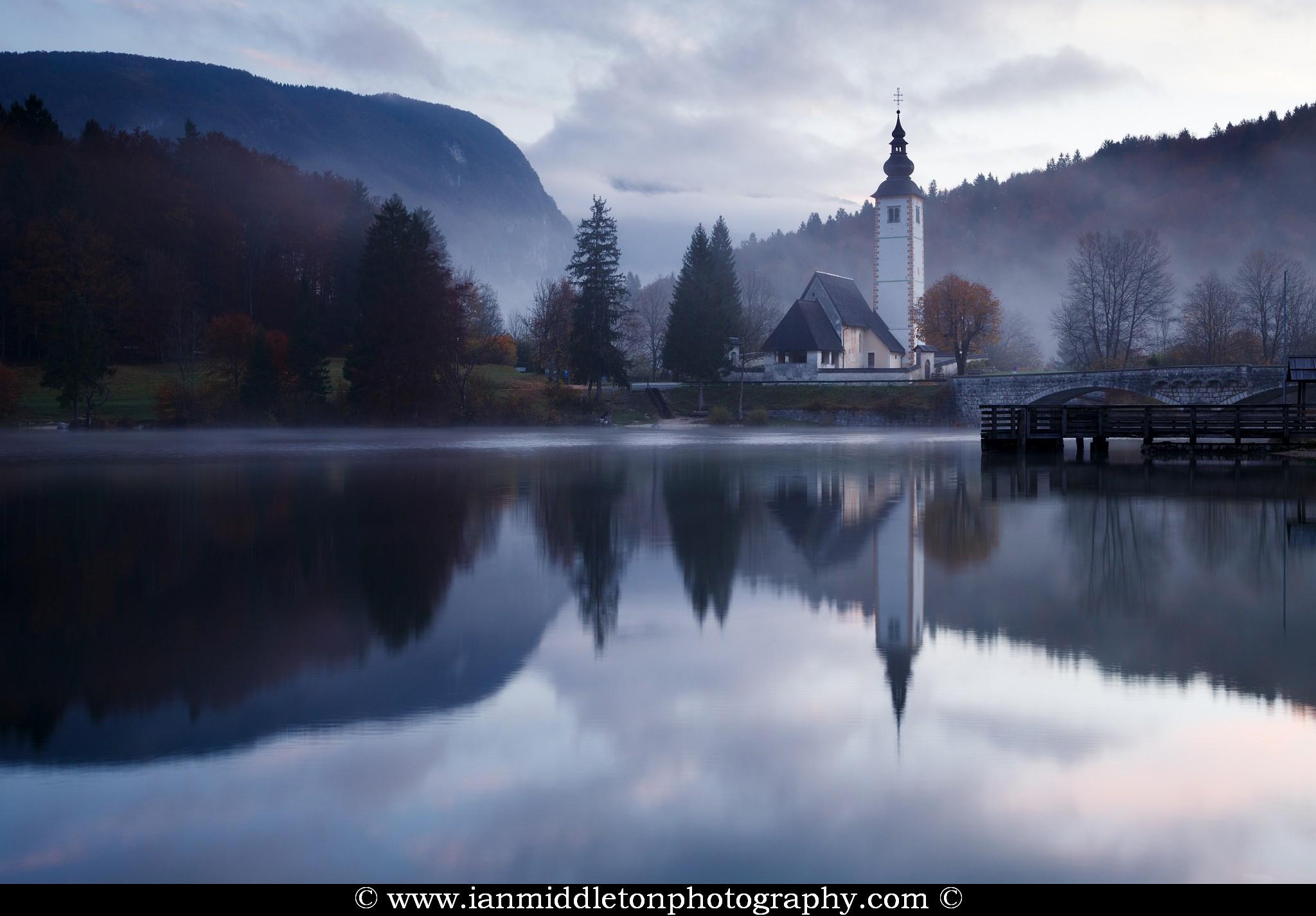 Lake Bohinj photography workshop in Slovenia