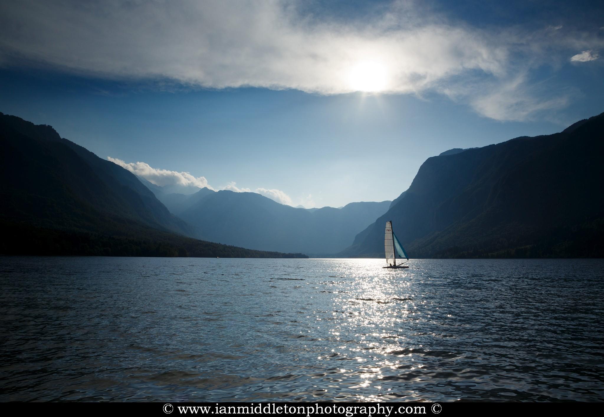 Lake Bohinj in Slovenia